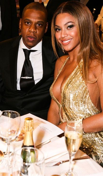 beyonce with her boyfriend